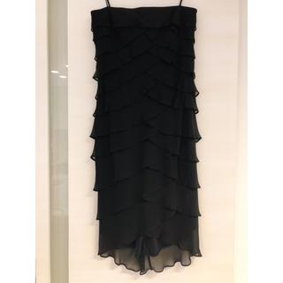 TADASHI SHOJI - ニーマンマーカスにて購入 TADASHI ブラック パーティドレス 大きいザイズ