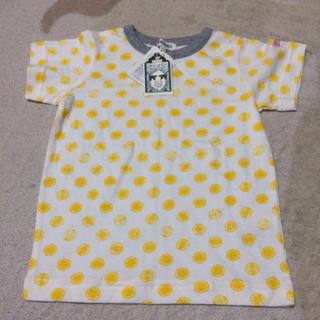 シューラルー(SHOO・LA・RUE)の黄色ドット 半袖Tシャツ110(Tシャツ/カットソー)
