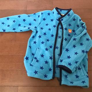 ミキハウス(mikihouse)のstrawberry様専用 ミキハウス フリース クマのワンポイントが可愛い(ジャケット/上着)