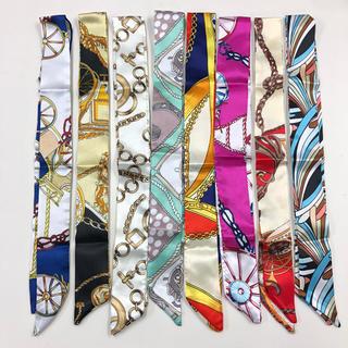 ザラ(ZARA)の新品未使用 まとめ売り 8点 ツイリースカーフ ツイリー(バンダナ/スカーフ)