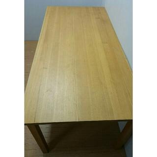 MUJI (無印良品) - ダイニングテーブル 無印良品 タモ材 天然木 北欧 ナチュラル