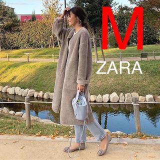 ZARA - ZARA  リバーシブルコート ボアコート
