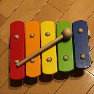 ボーネルンド(BorneLund)のピントイ 木琴 木製おもちゃ ベビー(楽器のおもちゃ)
