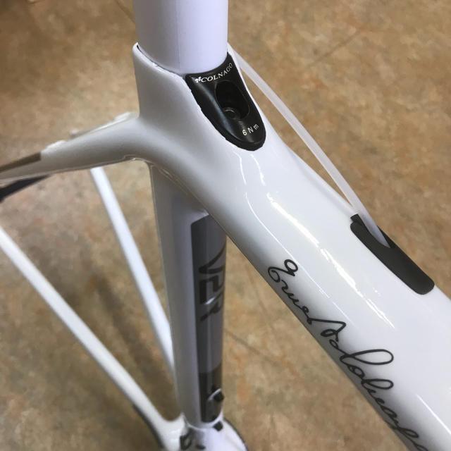 2019モデル コルナゴ V2-r カーボンフレーム ホワイト 520S スポーツ/アウトドアの自転車(自転車本体)の商品写真