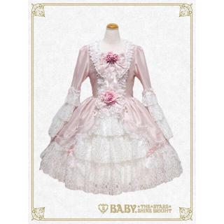 ベイビーザスターズシャインブライト(BABY,THE STARS SHINE BRIGHT)の定価64,800円新品未使用♡BABY icing princess ドレス(ミディアムドレス)