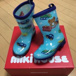 ミキハウス(mikihouse)の最終値下げ‼︎ミキハウスプッチくん長靴14cm新品(長靴/レインシューズ)