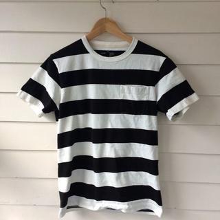 ムジルシリョウヒン(MUJI (無印良品))の無印良品ボーダーTシャツ(Tシャツ/カットソー(半袖/袖なし))