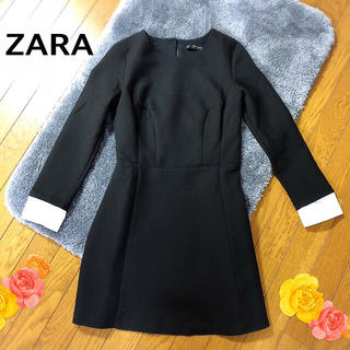 ZARA - ザラのシンプル上品クラシカルワンピース◆XS