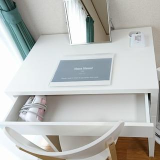 イケア(IKEA)のIKEAのMICKE ミッケデスク(オフィス/パソコンデスク)
