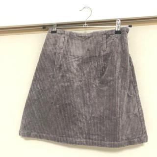 ワンアフターアナザーナイスクラップ(one after another NICE CLAUP)の台形スカート(ミニスカート)