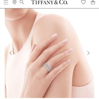 ティファニー(Tiffany & Co.)のTiffany*アトラスオープンリング*(リング(指輪))
