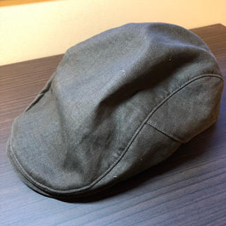 ムジルシリョウヒン(MUJI (無印良品))のハンチング 茶色 無印 無印良品  MUJI サイズ57.5〜59センチ(ハンチング/ベレー帽)