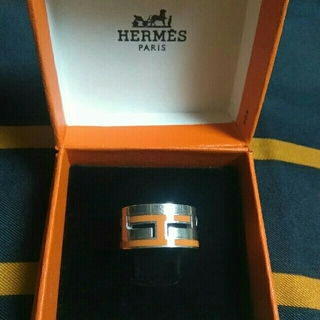 エルメス(Hermes)のなまいきシャルロ様専用HERMESリング★ムーブアッシュ(リング(指輪))