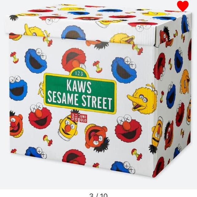 SESAME STREET(セサミストリート)のユニクロ コンプリートBOX KAWS エンタメ/ホビーのおもちゃ/ぬいぐるみ(ぬいぐるみ)の商品写真