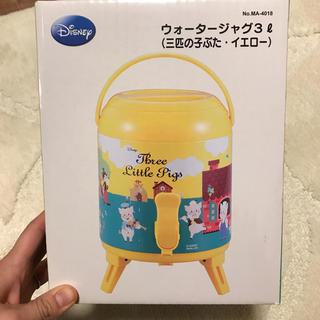 ディズニー(Disney)のウォータージャグ 3リットル 水筒 ディズニー 保温 保冷(その他)