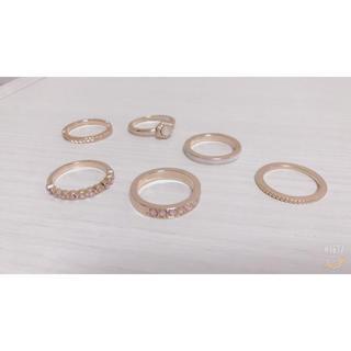 指輪6つセット (個売りも可)(リング(指輪))