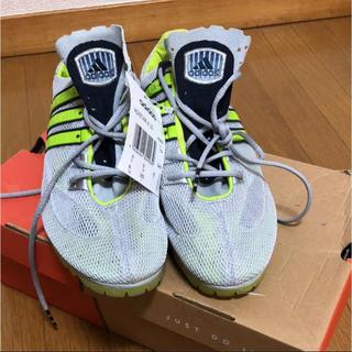 アディダス(adidas)のadidas アディダス 陸上競技用 スパイク 【26.5】【タグ付き未使用】(陸上競技)