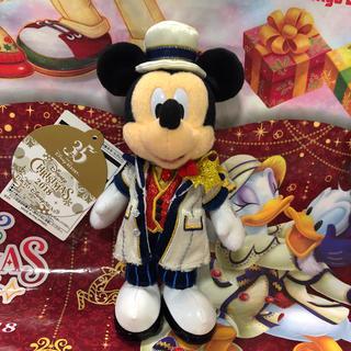 Disney - 新作♡ ミッキー ぬいぐるみバッジ クリスマス 2018 ディズニーシー