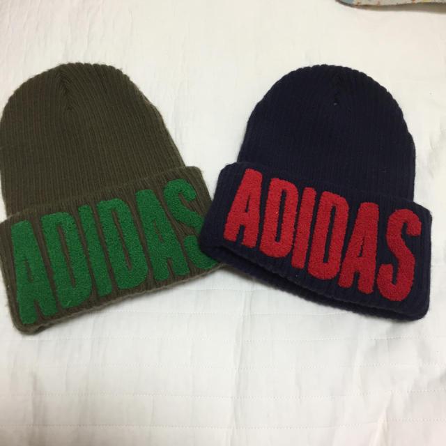 adidas(アディダス)のアディダス ニット帽子 メンズの帽子(ニット帽/ビーニー)の商品写真