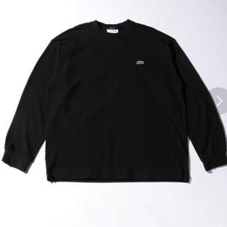 ビューティアンドユースユナイテッドアローズ(BEAUTY&YOUTH UNITED ARROWS)のLACOSTE long sleeve T-shirt(Tシャツ/カットソー(七分/長袖))