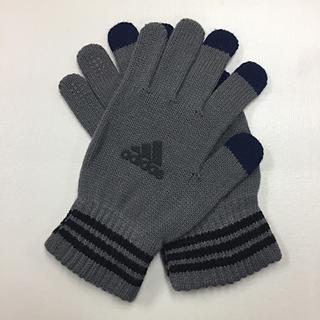アディダス(adidas)のadidas 紳士手袋タッチパネル対応 (手袋)