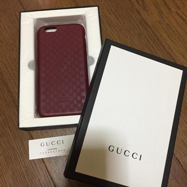 fendi iphone8 カバー 三つ折 | Gucci - GUCCI  iPhone6 シリコンケースの通販 by ひろ's shop|グッチならラクマ