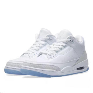 NIKE - 26.5cm Nike air jordan 3 retro white 新品