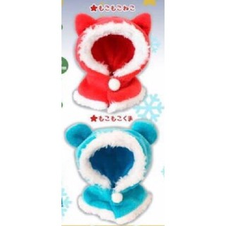 【新品】ねこさんのケープ♪ クリスマスナイト ☆ 2種セット
