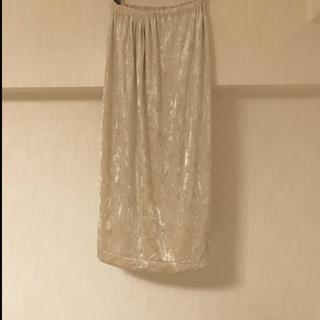 ロキエ(Lochie)のヴィンテージ スカート jantiques マキシベロア(ロングスカート)