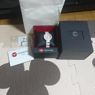 テクノス(TECHNOS)のテクノス  ピンク 腕時計(腕時計)