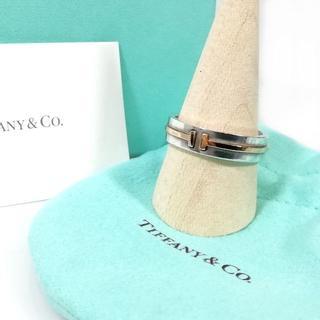 ティファニー(Tiffany & Co.)の希少 良品 ティファニー T ツーナロー リング 指輪 23号 NO51(リング(指輪))