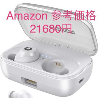 72時間連続駆動 IPX7完全防水 Bluetooth 完全ワイヤレスイヤホン(ヘッドフォン/イヤフォン)