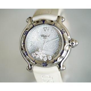 ショパール(Chopard)の美品 ショパール ハッピースポーツ スノーフレーク レディース Chopard(腕時計)