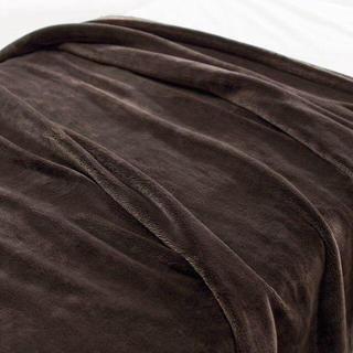 ムジルシリョウヒン(MUJI (無印良品))の新品 手渡し 無印良品 あたたかファイバー厚手毛布 シングル(毛布)