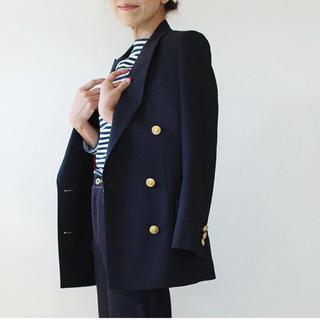 マディソンブルー(MADISONBLUE)のマディソンブルー ジャケット01美品紺ブレ金ボタン☆ドゥロワー(テーラードジャケット)
