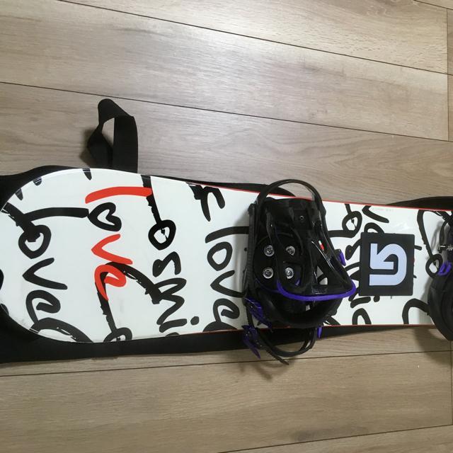 【5点セット】スノーボードセット スポーツ/アウトドアのスノーボード(ボード)の商品写真