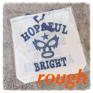 ラフ(rough)のrough ノベルティーバッグ☆(エコバッグ)