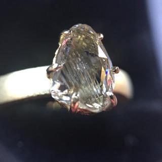 購入予定者様あり。「天然ダイヤモンド 」18金 アンティーク調 指輪 (リング(指輪))