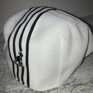 カンゴール(KANGOL)のKANGOL カンゴール ハンチング帽 ホワイト(ハンチング/ベレー帽)