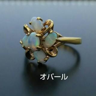 ∮ヴィンテージ ノスタルジック漂うオパールリング#12∮(リング(指輪))