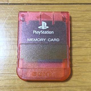 プレイステーション(PlayStation)のメモリーカード プレイステーション用 PS プレステ ソニー 純正(家庭用ゲーム機本体)