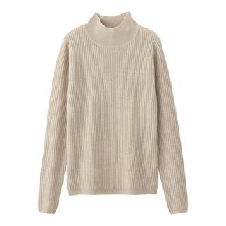ジーユー(GU)の新品未使用♡ラメハイネックリブセーター(ニット/セーター)