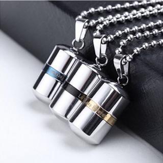 メモリアル ペンダント  香水瓶 アロマ ネックレス ステンレス