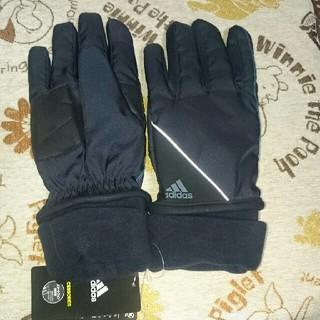 アディダス(adidas)の新品☆adidas手袋(厚手)(手袋)