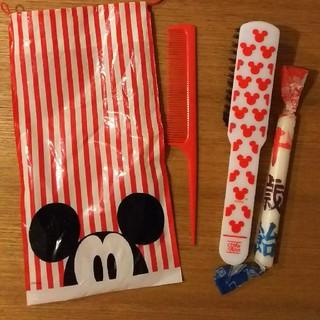ディズニー(Disney)のスタジオアリス  ディズニーくし  千歳飴(ヘアブラシ)