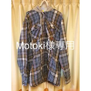アナログクロージング(Analog Clothing)のANALOG アナログ フード付きシャツ サイズ L(ウエア/装備)