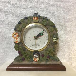 ジブリ(ジブリ)の☆中古品☆トトロ 置時計(置時計)