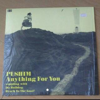 10inch レコード PUSHIM Anything For You プシン(R&B/ソウル)