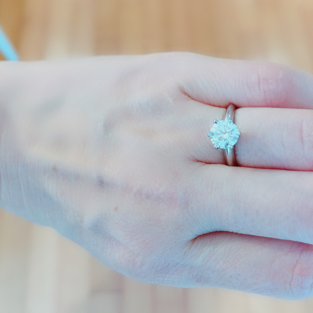 Tiffany & Co.(ティファニー)の定価300万円以上 Tiffany ソリティア 1.31カラット レディースのアクセサリー(リング(指輪))の商品写真