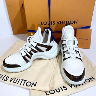 ルイヴィトン(LOUIS VUITTON)の定価139,320円→25%off☆ルイヴィトン LVモノグラムアークライト(スニーカー)